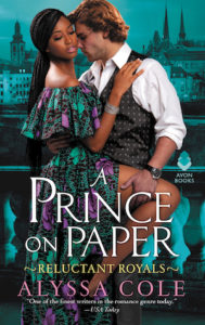 cover of A Prince on Paper by Alyssa Cole