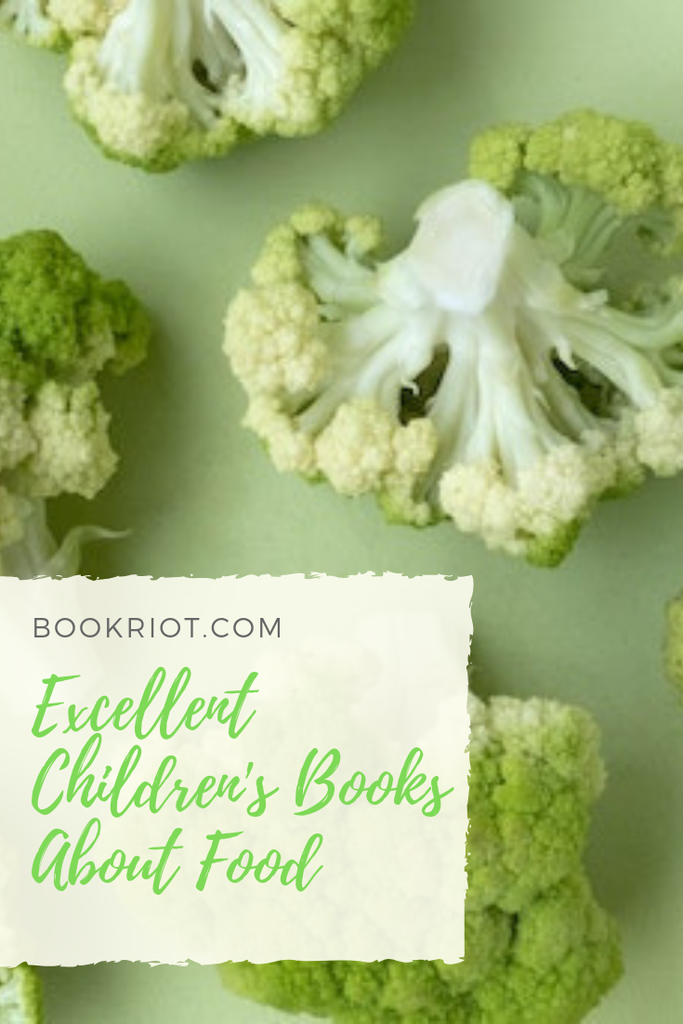 Eat up these excellent picture books and board books about food with your favorite young reader. book lists | children's books | parenting | books about food | board books about food | picture books about food
