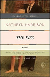 kathryn harrison the kiss horror memoir book cover