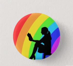 Reading Rainbow Button