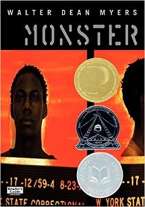 Monster by Walter Dean Myers cover