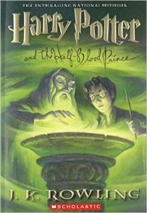 Harry Potter and the Half-Blood Prince Book Cover