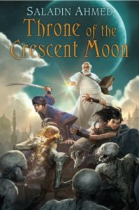 book cover throne of the crescent moon