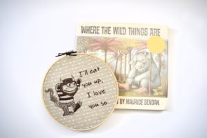 Where the Wild Things Are Embroidery