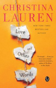 Love and Other Words cover