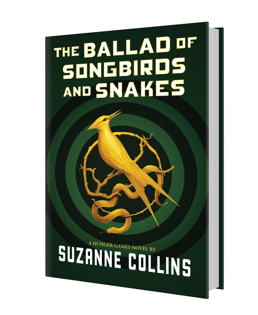 Cover Revealed for New HUNGER GAMES Prequel