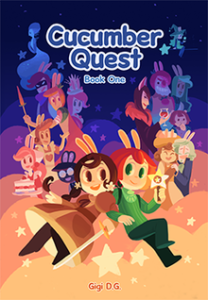 Cucumber Quest from SFF Comics for Halloween | bookriot.com