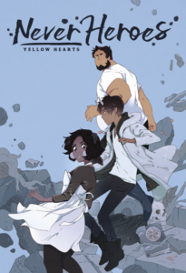 Never Heroes: Yellow Hearts from SFF Webcomics for Halloween | bookriot.com
