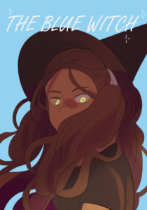 The Blue Witch from SFF Webcomics for Halloween | bookriot.com