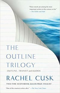 Outline, Transit, Kudos by Rachel Cusk cover