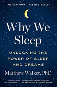 Why We Sleep by Matthew Walker book cover
