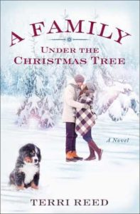 a family under the christmas tree by terri reed