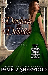 Devices and Desires by Pamela Sherwood cover estranged lovers romance novel