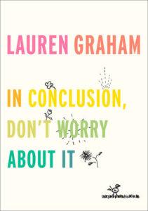 in conclusion, don't worry about it bookcover