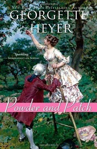 powder and patch by georgette heyer cover estranged lovers romance novel