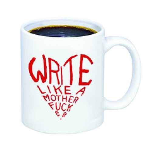 write like a motherfucker mug gifts for bookworms holiday reading