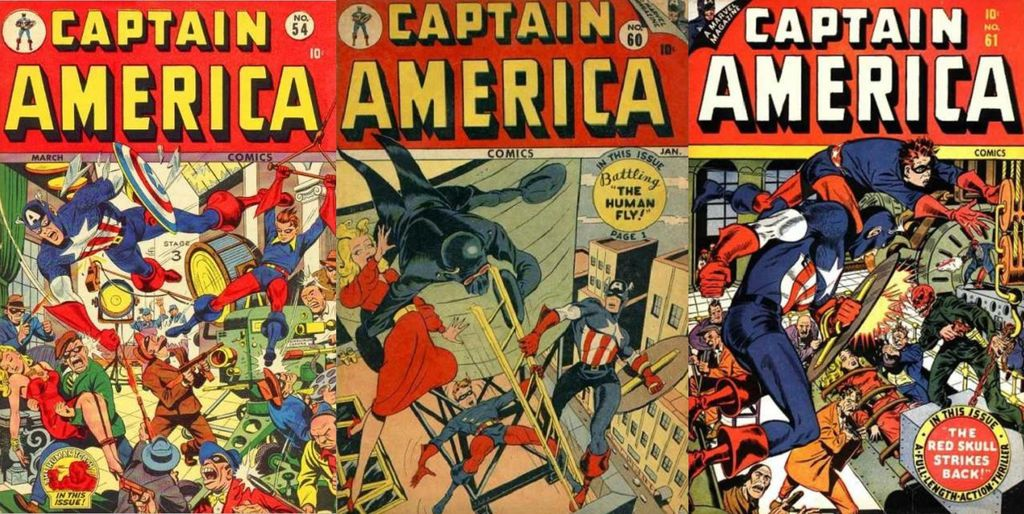 Captain America…Commie Smasher