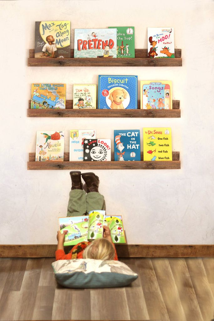Hanging shelves for a child's room from Etsy https://www.etsy.com/listing/489012359/bookshelf-for-childrens-books-single?ga_order=most_relevant&ga_search_type=all&ga_view_type=gallery&ga_search_query=children%26%2339%3Bs+bookshelf&ref=sr_gallery-1-11&organic_search_click=1