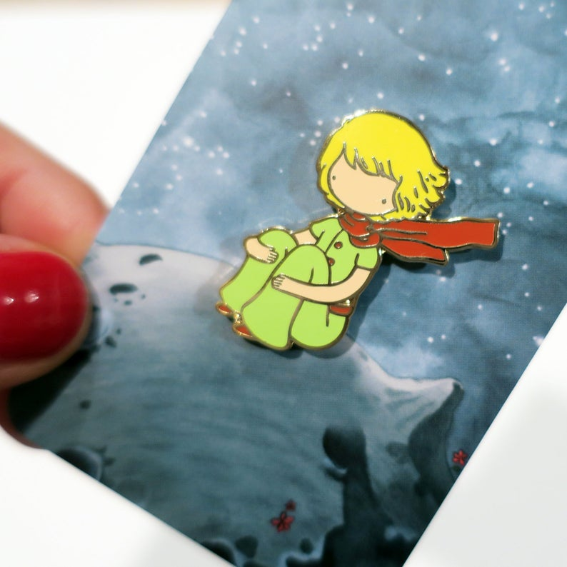 Little Prince pin from Etsy https://www.etsy.com/listing/662001298/little-prince-enamel-pin?ga_order=most_relevant&ga_search_type=all&ga_view_type=gallery&ga_search_query=children%26%2339%3Bs+book+pin&ref=sr_gallery-1-47&organic_search_click=1