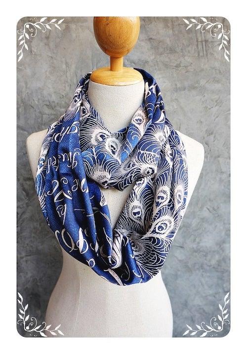 Pride and Prejudice infinity scarf
