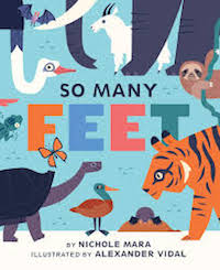 So Many Feet Book Cover