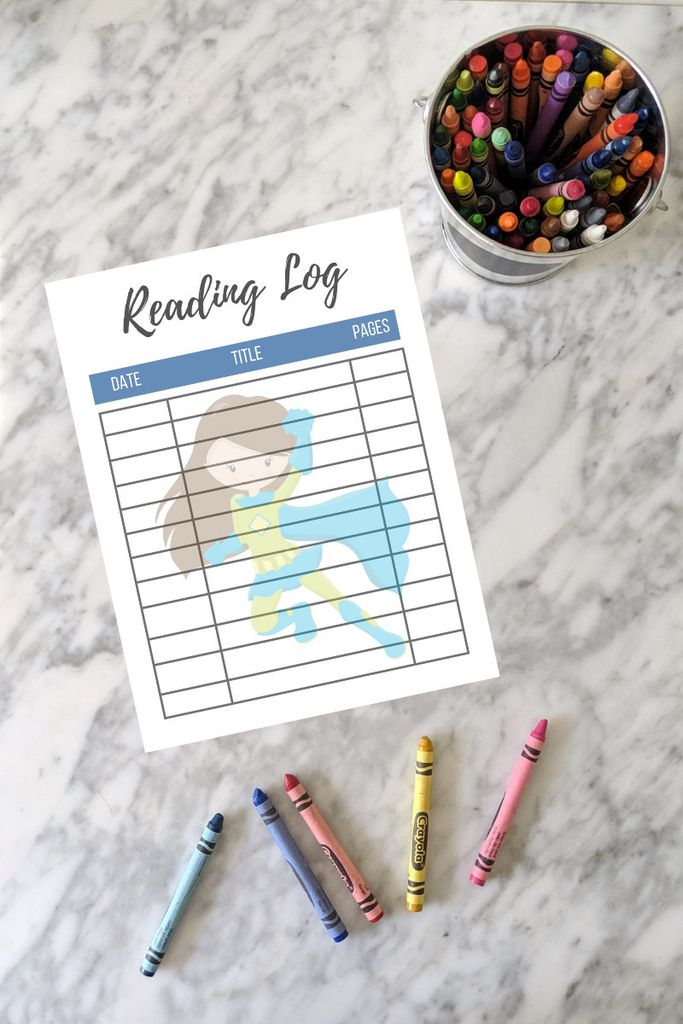 Superhero reading log from Etsy https://www.etsy.com/listing/695002118/girl-superhero-reading-log-printable-set?ga_order=most_relevant&ga_search_type=all&ga_view_type=gallery&ga_search_query=children%26%2339%3Bs+reading+tracker&ref=sr_gallery-1-9&organic_search_click=1