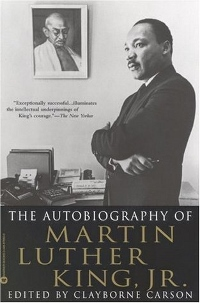 The Autobiography of Martin Luther King Jr Book Cover