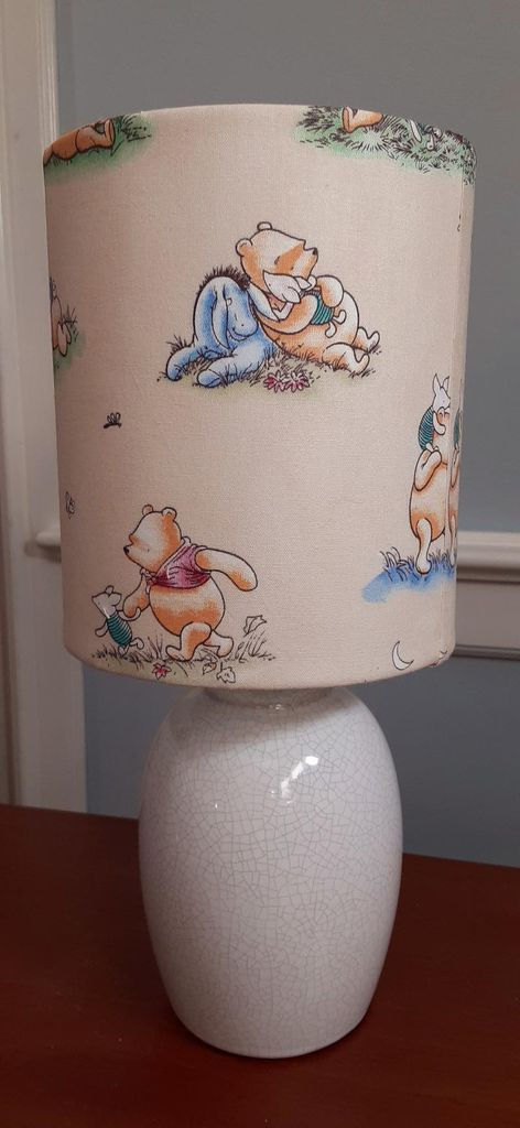 Winnie the Pooh lampshade from Etsy https://www.etsy.com/listing/726927697/classic-winnie-the-pooh-nurseryaccent?ref=shop_home_active_11&frs=1