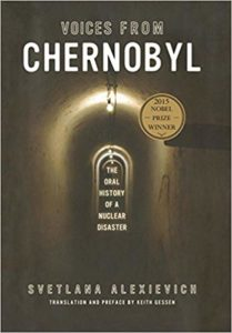 cover of voices from chernobyl