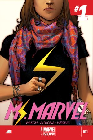 Ms. Marvel no 1 cover